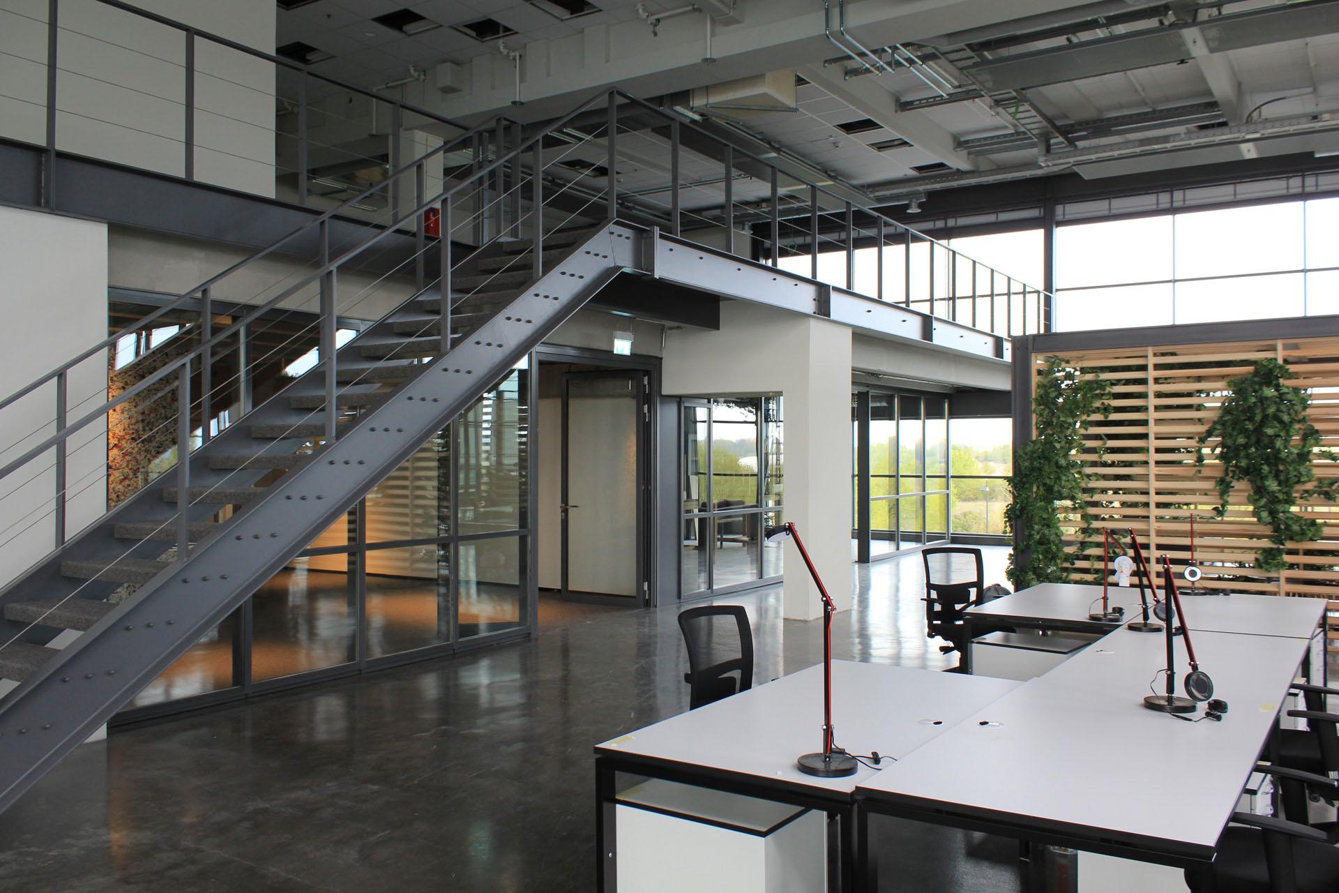 Umbau Lager Zu Loft Buro Ing Buro Versorgungs Und Umwelttechnik